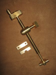 BROOKS brass elevator screw