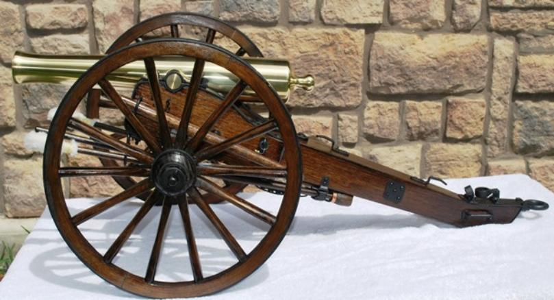 BROOKS Napoleon on Field Carriage